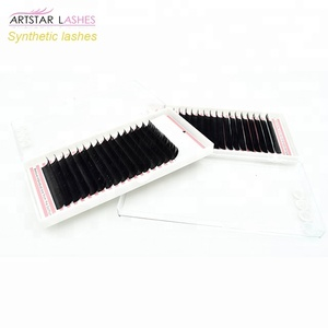 CK Beauty Lashes Eyelash Extension Synthetic Mink/Silk Eyelash Tray 20 Lines in 1 Pack
