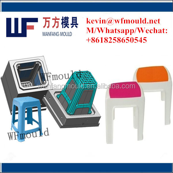 houseware customized plastic kids stool mold/plastic stool mould