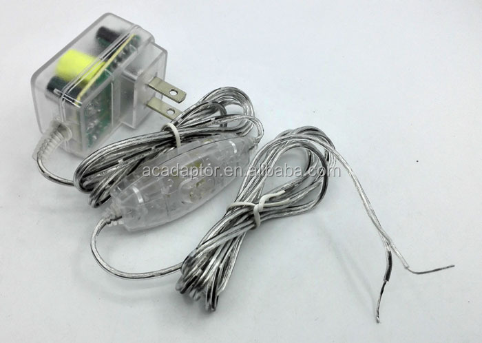 5v1a Transparent Ac Dc Adapter Usa Plug Cable With Transparent ...