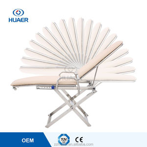 Stainless Steel Folding hospital patient chair