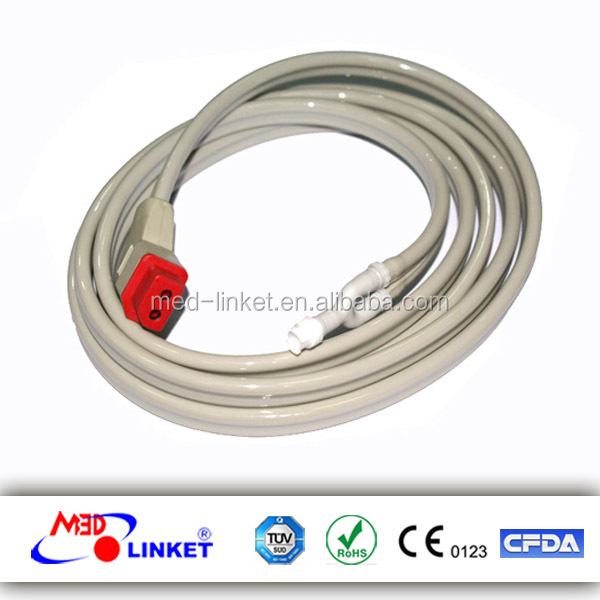 With CE/ISO/FDA Certificates of Blood Pressure Tubing compatible with Nihon Kohden, two tube