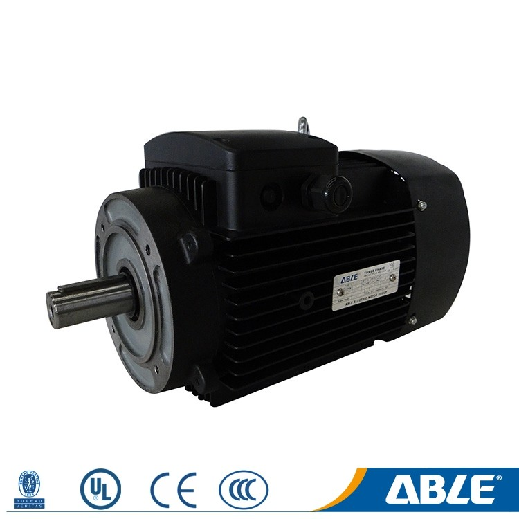 star connection 3 phase squirrel cage 10hp double shaft electric motor