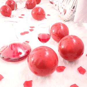 12 inch Ruby red Latex Inflatable Air Floating Balloons Wedding Birthday Balloons Decoration Globos Party Anniversary Ballon