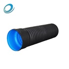 Smooth Wall 10 Inch Diameter Drain Plastic Tubing Corrugated Sewer Pipe