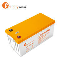 2018 hot sell CE approved long life gel solar battery for home system Algiers