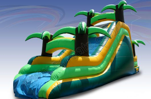 Amusement park giant inflatable water slide made in China G4071