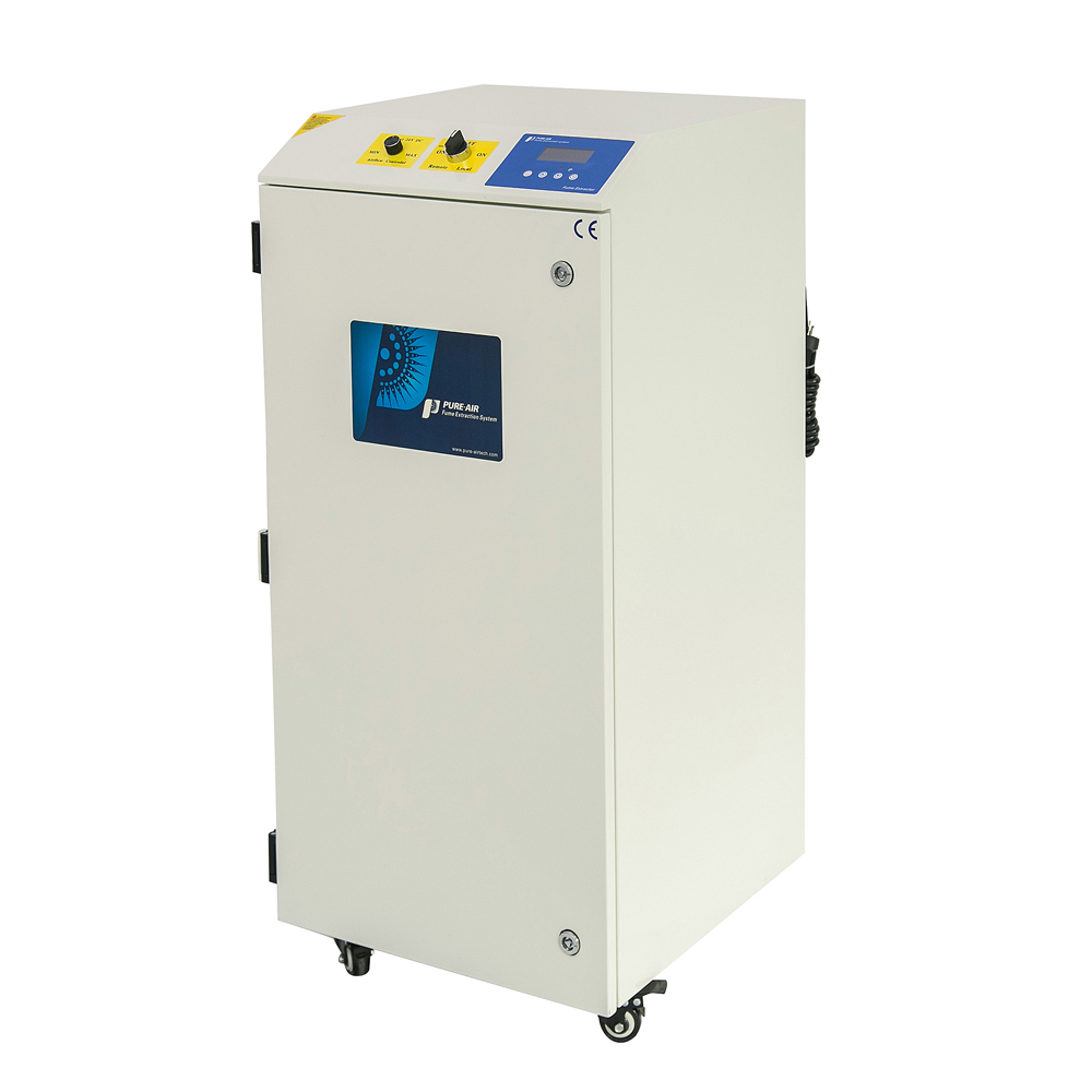 Hot Inquiry USA Pure-Air PA-700FS-IQ Activated Carbon Lab Clean Room Fume Extractor Dust Absorber Machines