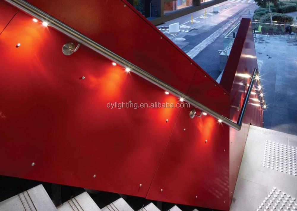 Mini 12 v led ferroviario recinzione illuminazione per esterni e
