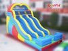 Colorful best quality inflatable dry slide