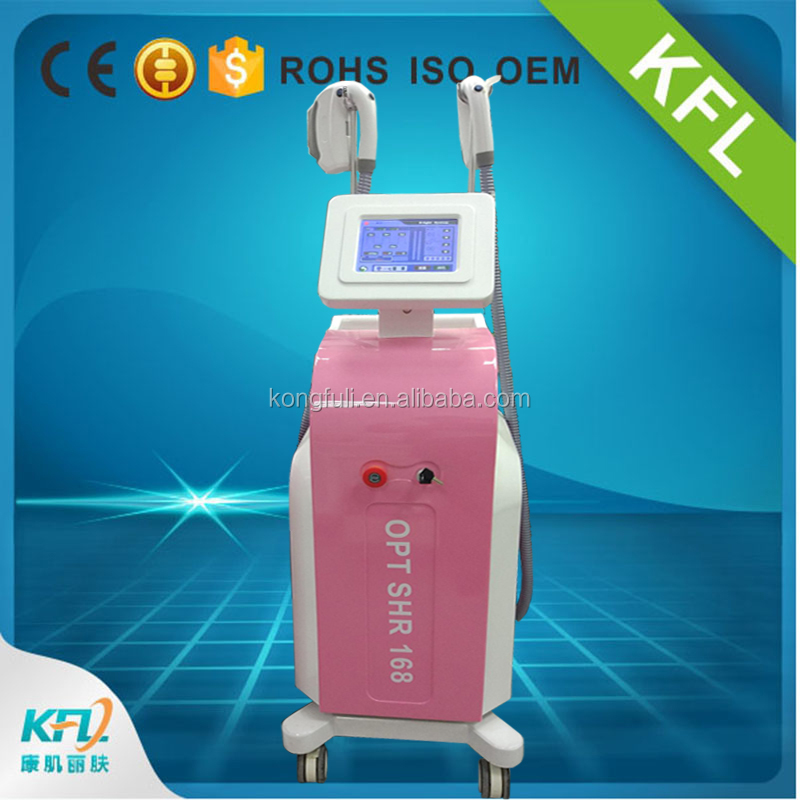Vertical ipl opt shr hair removal skin rejuvenation acne scar pigmentation removal machine beauty salon equipment