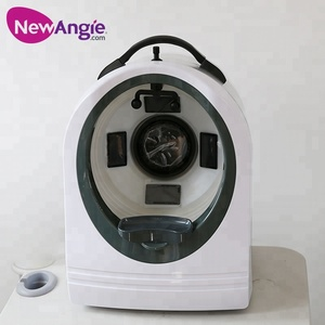 Skin care 3d face analysis machine with high quality camera