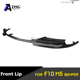 m5 style carbon fiber front lip spoiler for bmw 5 series f10 m5 bumpers