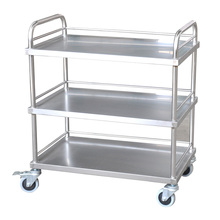 Medical 3 fila in acciaio inox <span class=keywords><strong>strumento</strong></span> chirurgico trolley