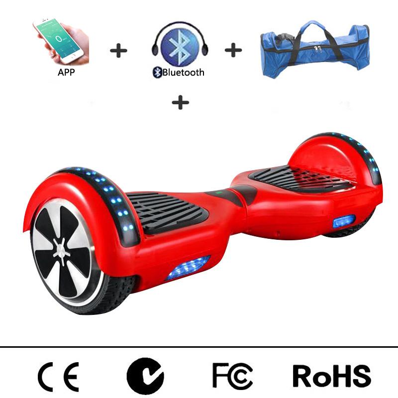 6 5 inches hoverboard bluetooth speaker app control. Black Bedroom Furniture Sets. Home Design Ideas