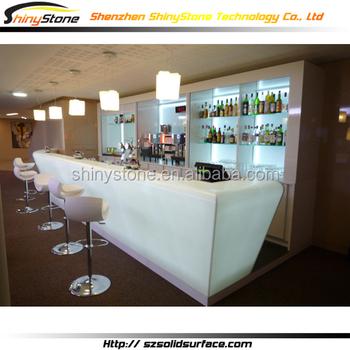 Luxury Destinctive Bar Artificial Stone Bar Counter Materials ...