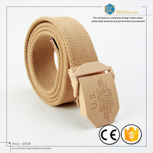 2016 Hot Casual Cheap Canvas Webbing Male Belts Thickening type