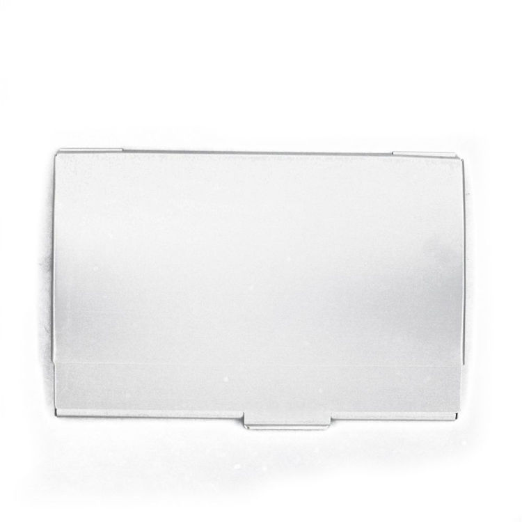 Alibaba retail simple aluminum businesscard case business card holder