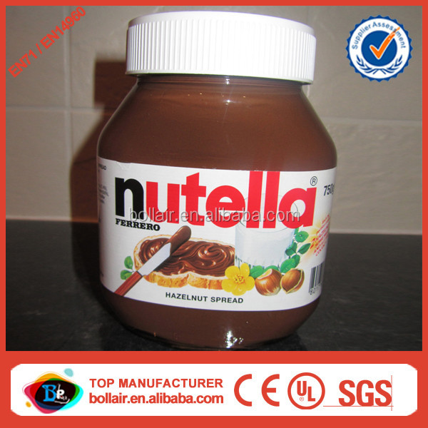 factory supply outdoor promotion big inflatable nutella jar buy