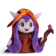 Heroes union plush toy witch stuffed toy LoL player collection doll