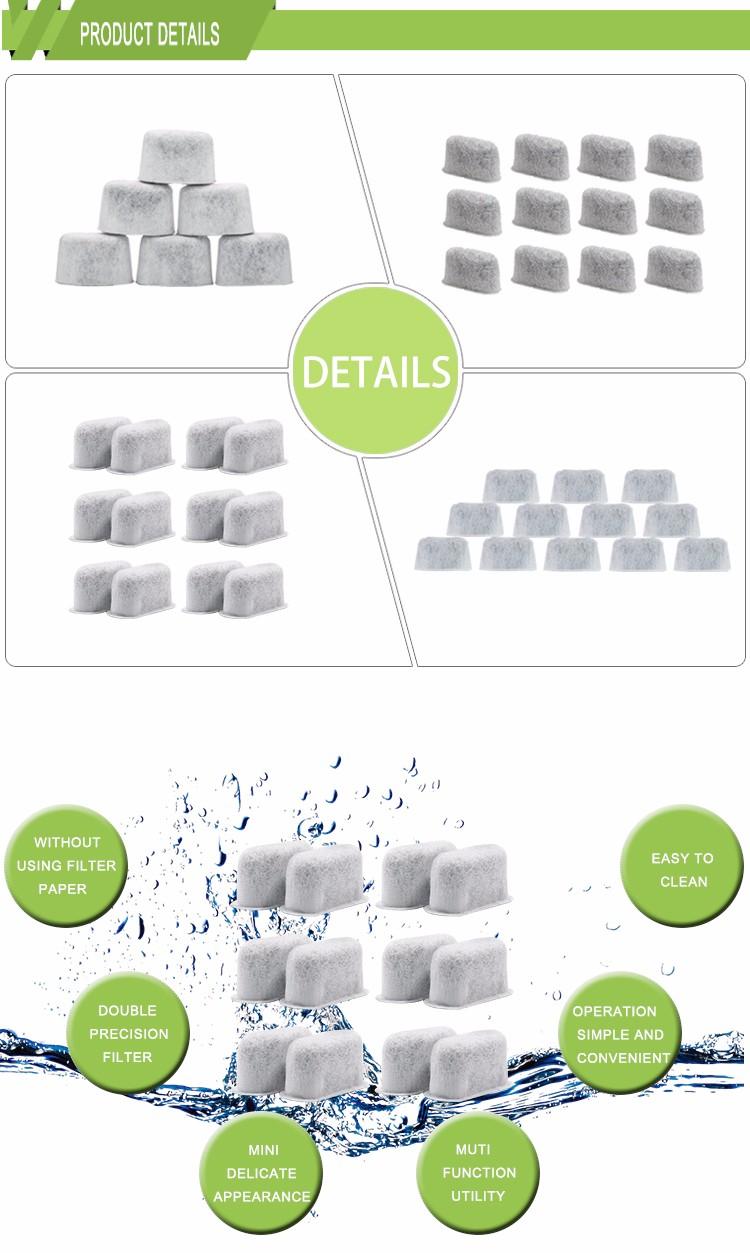 6-Pack KEURIG Compatibel Water Filters Fit Keurig Compatibel Filters water filter houtskool