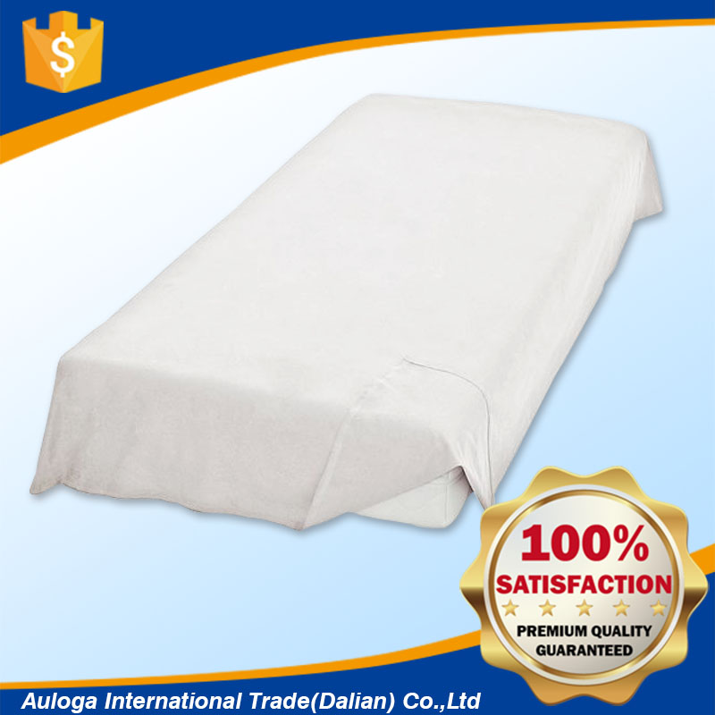 Fitted 100% waterproof mattress flat sheet protector