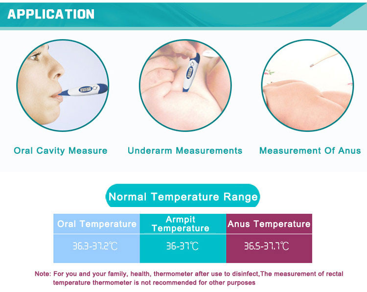 Jasun DT-K111D Jumbo clinical digital thermometer accurate temperature sensor household thermometer