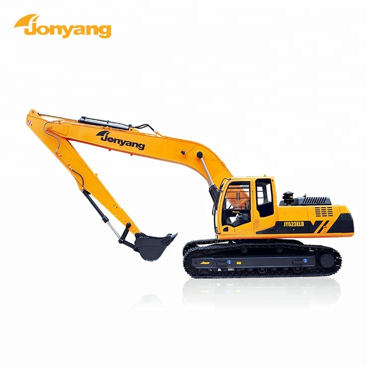 High quality 23t 0.6m3 crawler excavator long reach