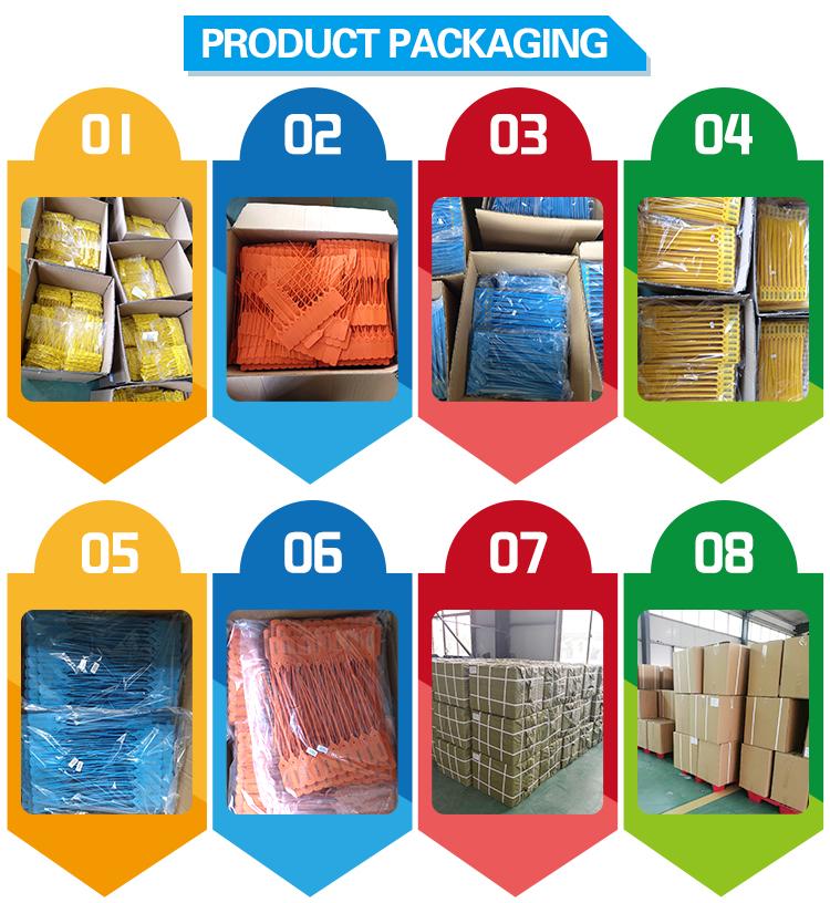 Plastic packing