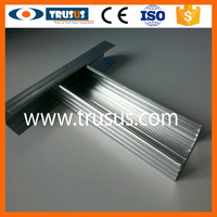 Different Sizes Metal T and U Type With Mezzanine Roof Steel Channel