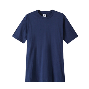 Wholesale price mans casual wear round neck basic white spandex bamboo cotton t-shirts