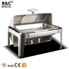 Wholesale hottest restaurant hotel supplies buffet stove with window for chafing dish