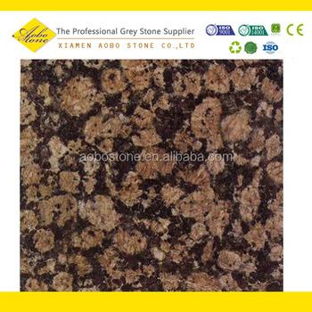 Indian Baltic Brown Granite Slab Price Tiles On