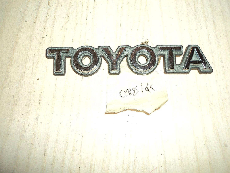 Cheap 89 Toyota Cressida Find Deals On Line At 1989 Fenders Emblem 92 Back Trunk Oem Badge Name Sign Symbol Used