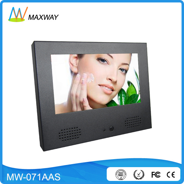 retail 7 inch small screen for advertising desktop or wall mount