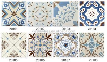 Painted Decorative Ceramic Floor Tile