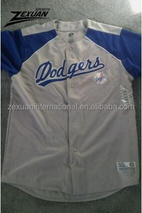 Fully sublimated mesh vintage youth baseball uniforms jerseys