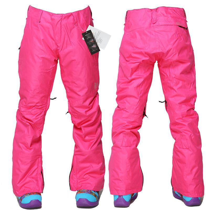2de5210f8a6 Get Quotations · New green snowboard pants snow orange ski pants women de  esqui mountain skis outdoors sports snow