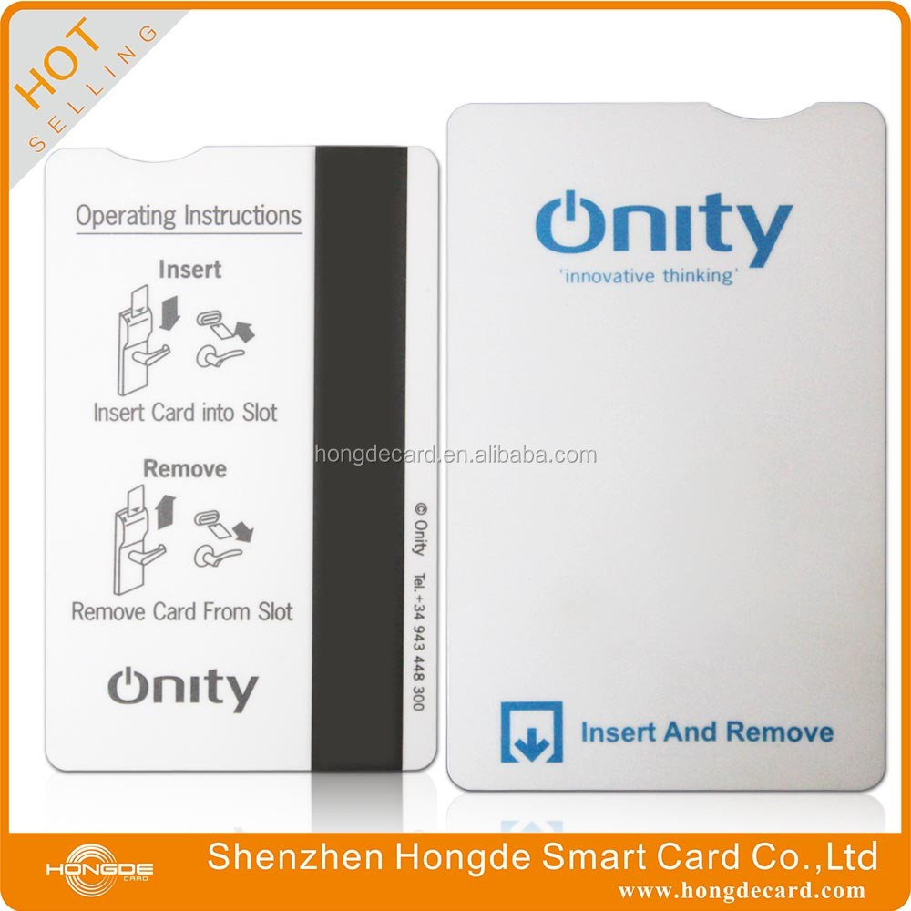 hotel magnetic key card Onity Key Card