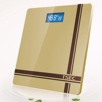 Tempered glass electronic bmi weight measuring bmi machine bathroom scale