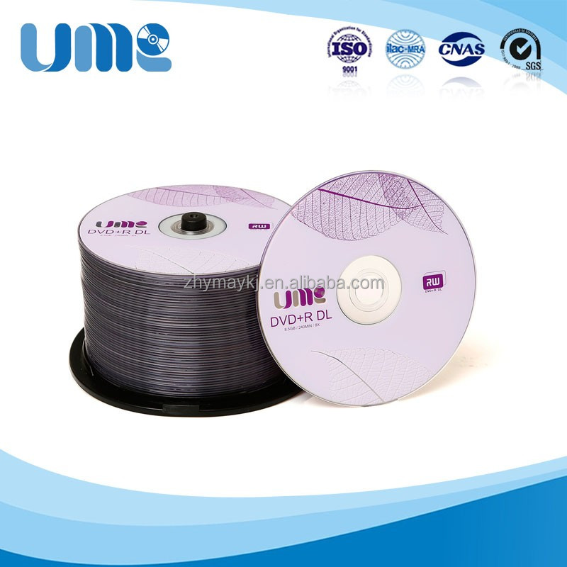 New Best Price UME DVD+R DL 8.5GB 8X Discs made in Anyang