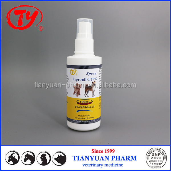 Pet medicine Fipronil Insecticide Fipronil Spray for sale