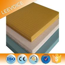 Fabric wrapped acoustic wall panel fiberglass filling panel
