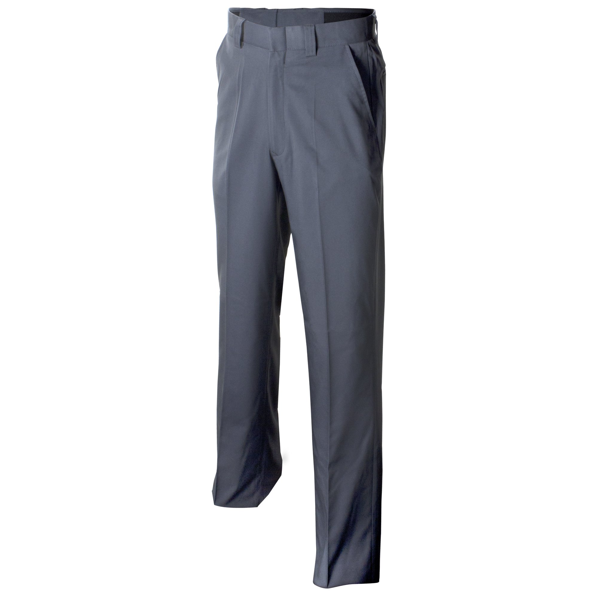 Adams USA ADMBB375-32-CG Umpire Combo Pleated Expandable Waist Uniform Pants Charcoal Grey Size 32