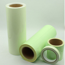 PET Yellow Green Glow in The Dark Vinyl Film Safety Material Factory