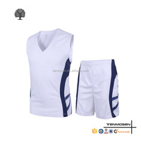 2016 custom comfortable fitness sports cheap new model basketball uniform