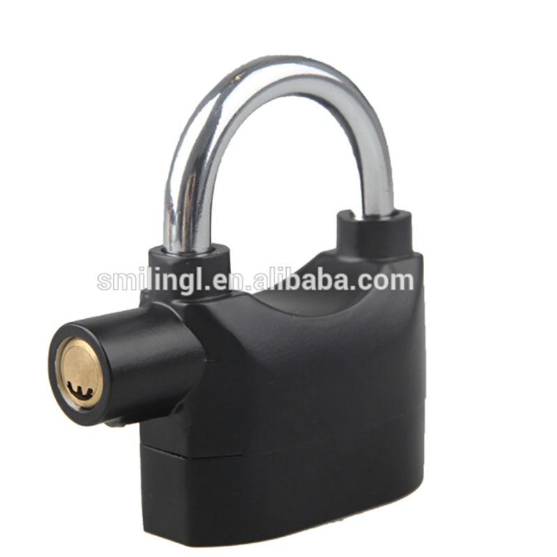 110db Siren Alarm Lock Security Anti-Theft Padlock For Door Motor Bike Bicycle