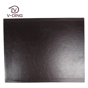 vding from China professional supplier of high quality leather custom placemats and coasters