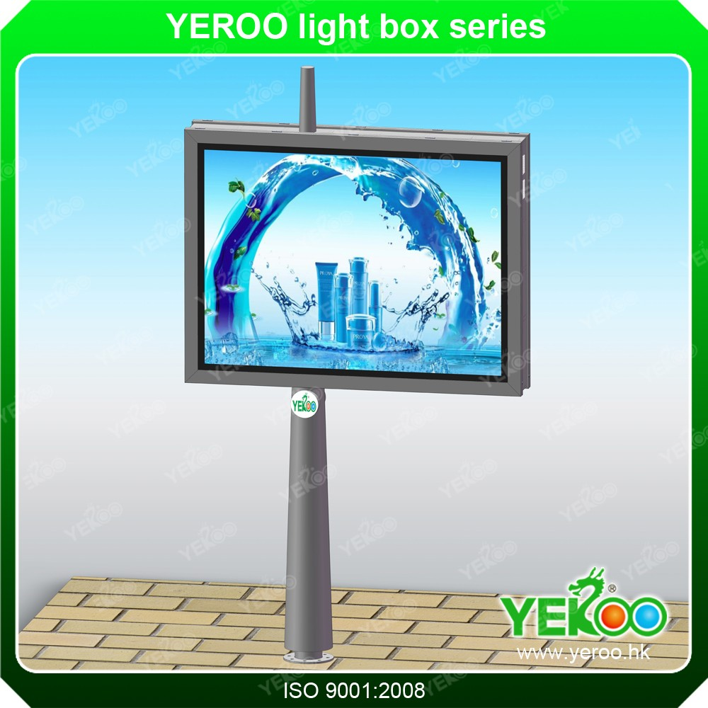 product-YEROO-Street Furniture Modern Advertising Light Box Bus Shelter-img-4