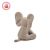 Cute nose 30cm grey elephant plush toy for kids