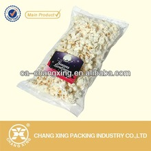 Transparent Pouches for crisp corn packaging/popcorn transparent bag